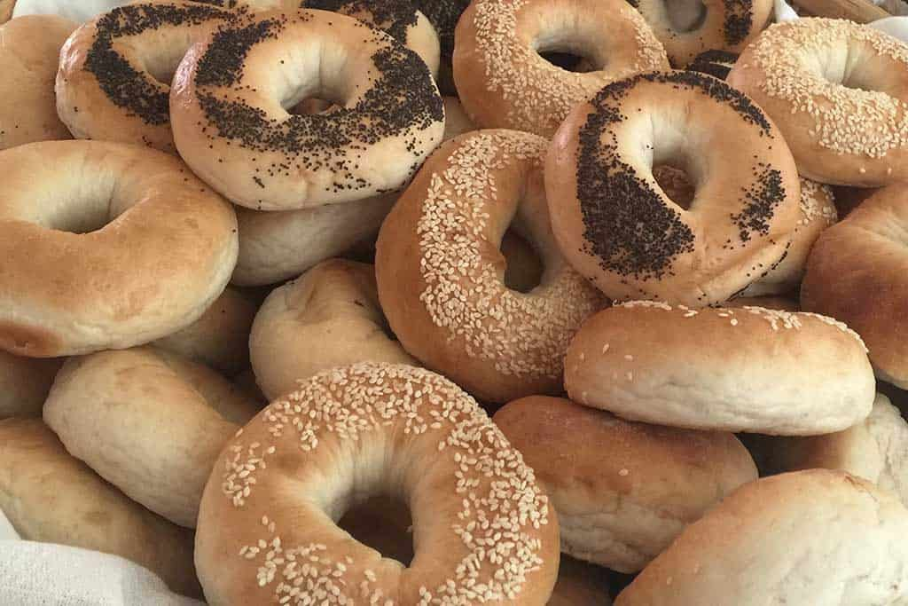 The best bagels in Bangkok are at Feedpoint Cafe!