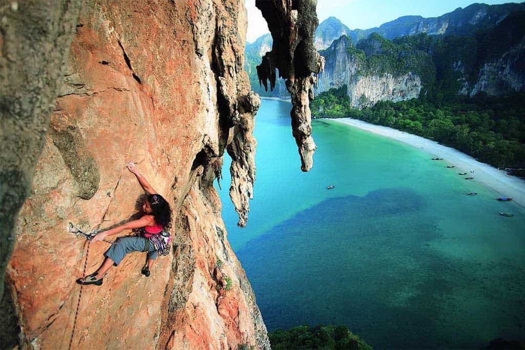 best places to go rock climbing in Thailand
