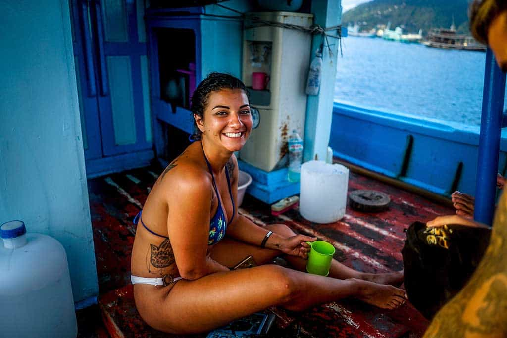 backpacker guide to PADI diving on Koh Tao
