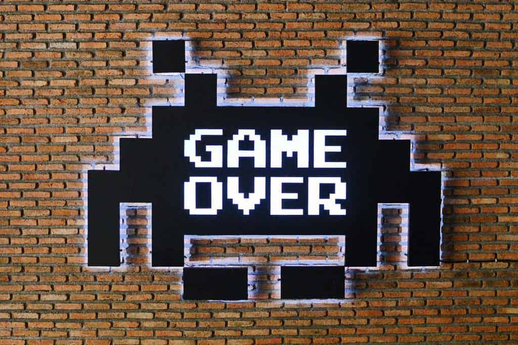 Game Over Lounge Bangkok sign