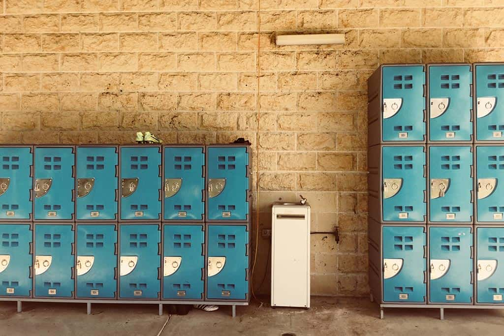 Bodega Hostel security lockers