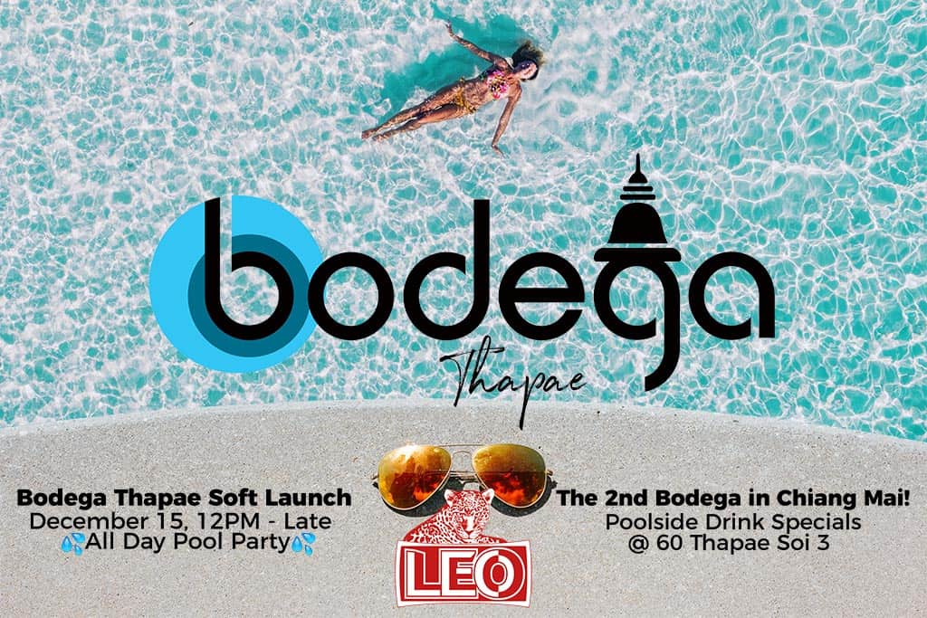 Bodega Thapae Soft Launch Party banner