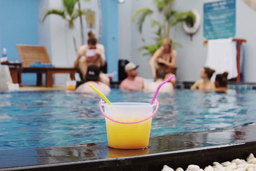 Bodega Backpacker Stories from the Phuket pool party