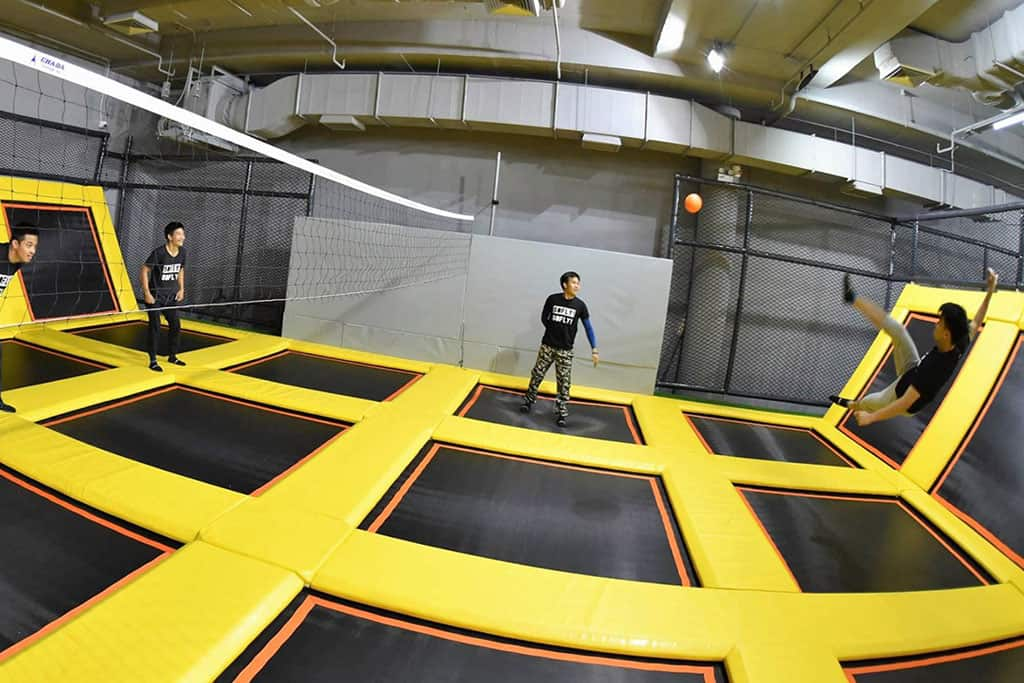 50fly trampoline park in chiang mai, thailand