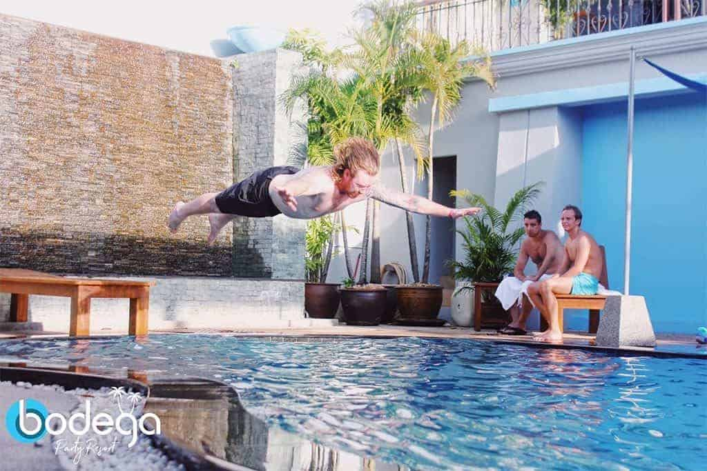 All in On the Flop! The Bodega Phuket Belly Flop Competition