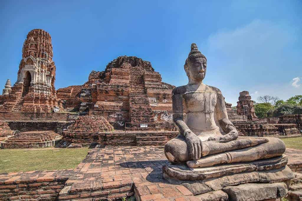 where Ancient Aliens in Thailand to build Ayutthaya?