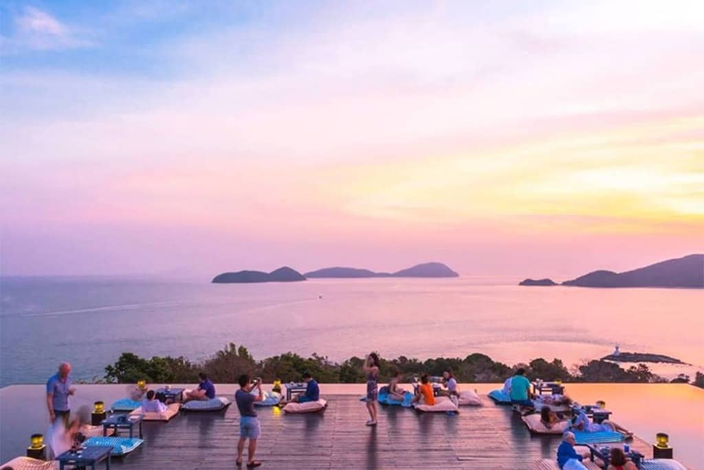 Baba Nest sunset bar in Phuket