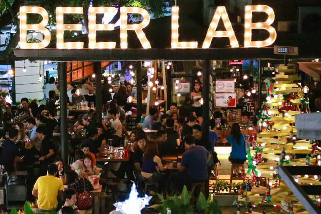 Beerlab Craft Beer bar in Chiang Mai