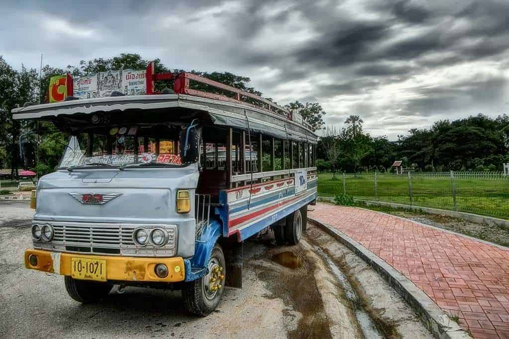 public bus to Khao Lak from Phuket airport