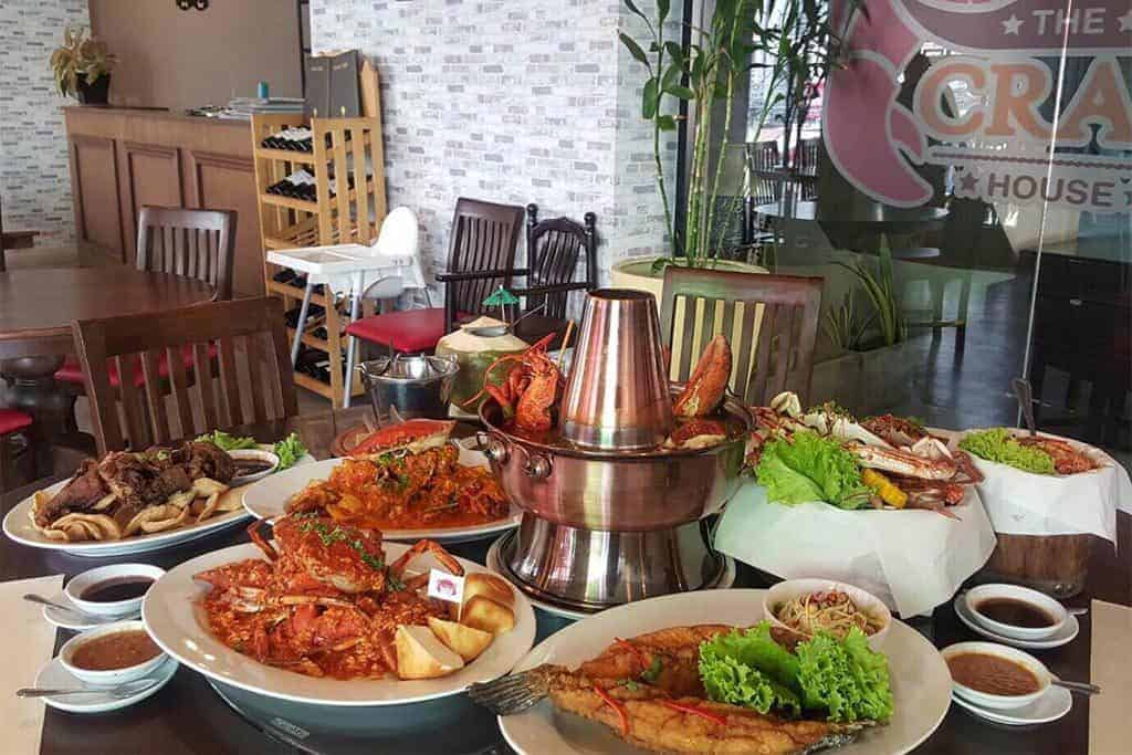 Crab House, one of the beast seafood restaurants in Phuket (Patong)
