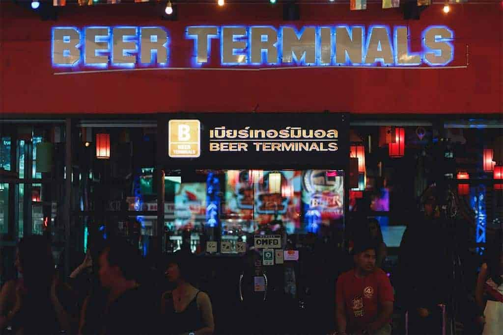 Craft Beer Terminals in Chiang Mai, Thailand