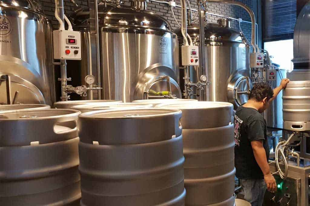 Full Moon Brewworks is the only craft beer brewer in Phuket