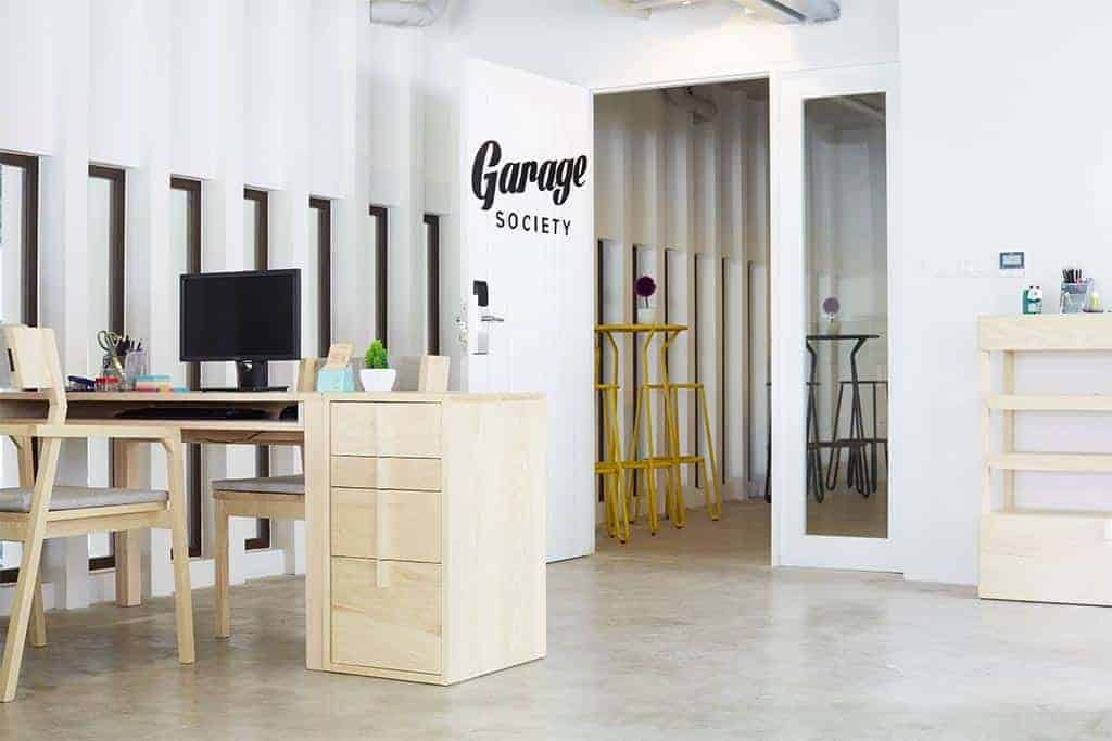 Garage Society coworking space in Phuket, Thailand