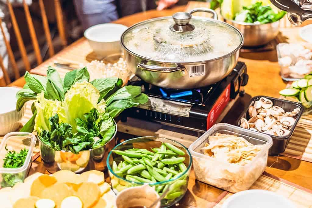 hot pot restaurants in Bangkok