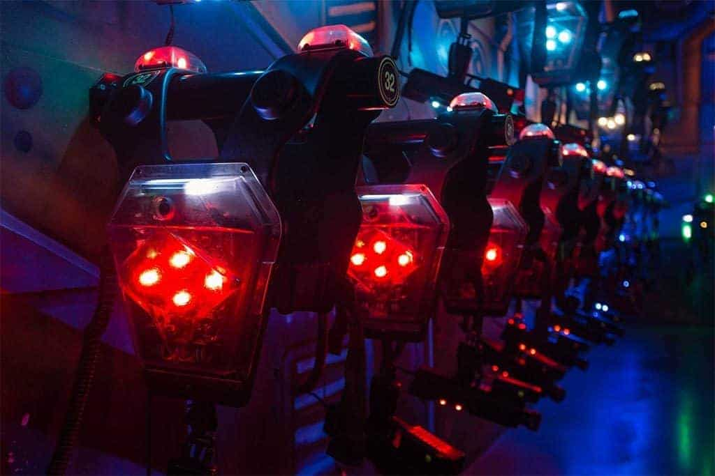 how to play laser tag in Bangkok - vests