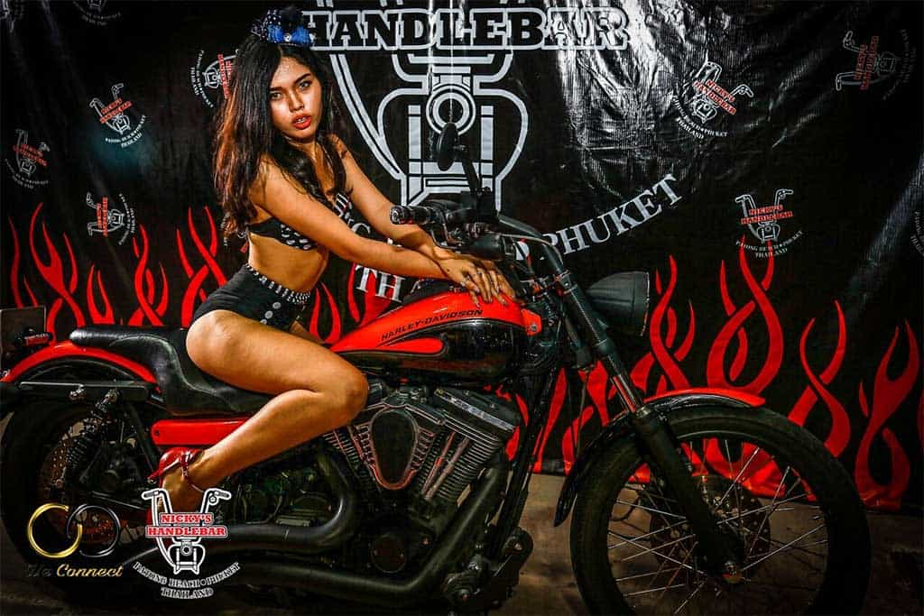 biker themed restaurant in Phuket