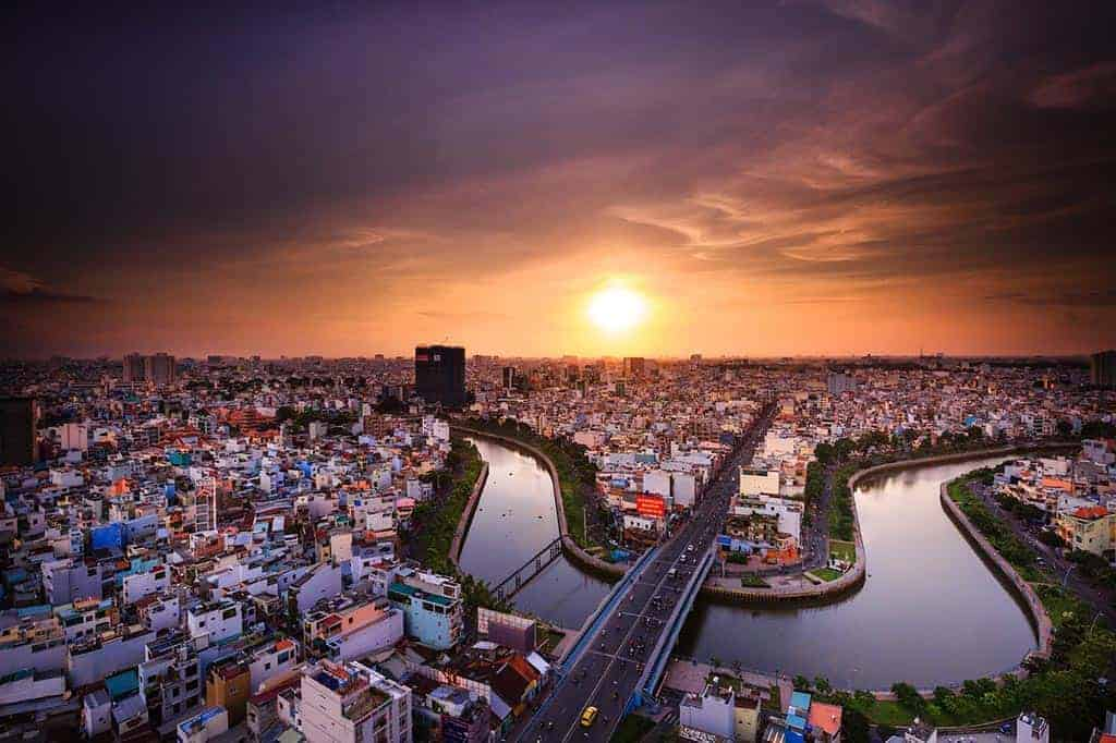 Thai visa runs to Ho Chi Minh City, Vietnam