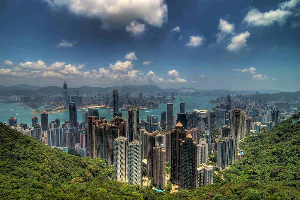 Visit Victoria Peak while on your Thai visa run to Hong Kong
