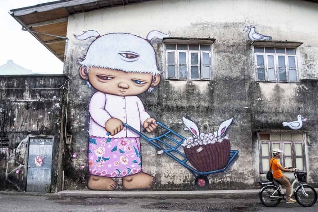 The Banksy of Bangkok: Graffiti Artist, Alex Face