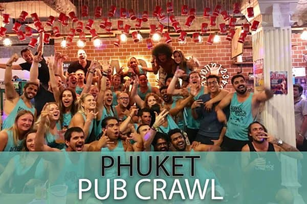 best Phuket pub crawl for backpackers in Bangla Road