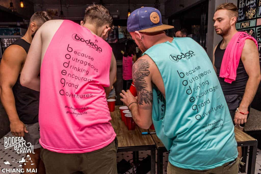 The Best Party for Backpackers in Phuket: Inside the Bodega Phuket Pub Crawl