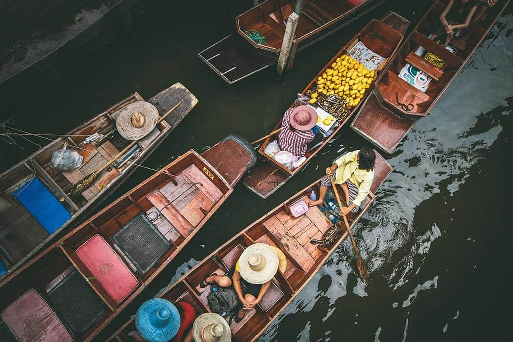 Whatever Floats Your Boat: Bangnamphueng Floating Market
