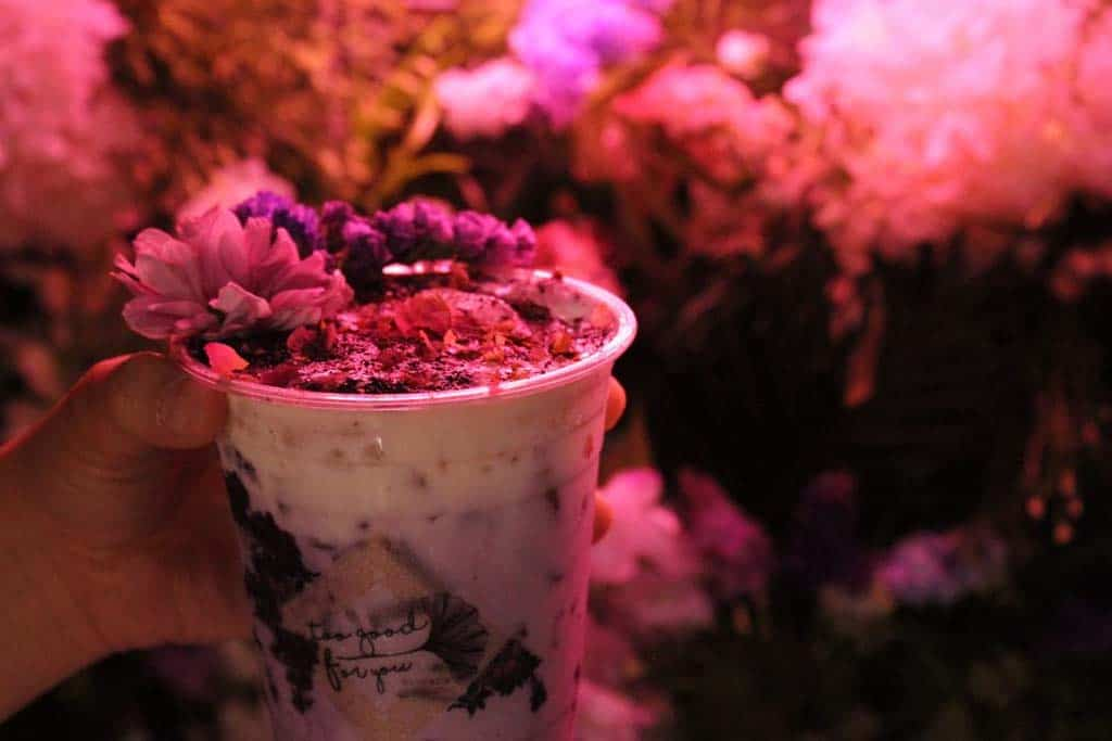 Flower Power: Floral Themed Drinks at Too Good For You Bangkok