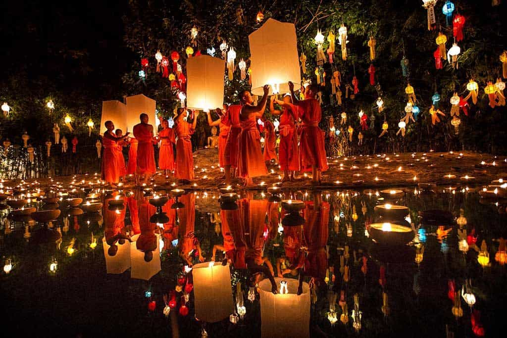 Yee Peng and Loy Krathong 2018: The Lantern Festivals in Chiang Mai