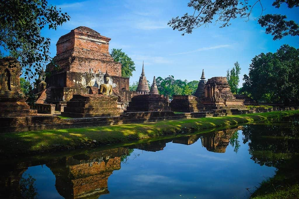 UNESCO? U-Must-Go! Sukhothai Historical Park: 70km² of Ancient Ruins