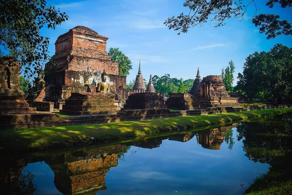 UNESCO? U-Must-Go! Sukhothai Historical Park: 70km² of Ancient Ruins