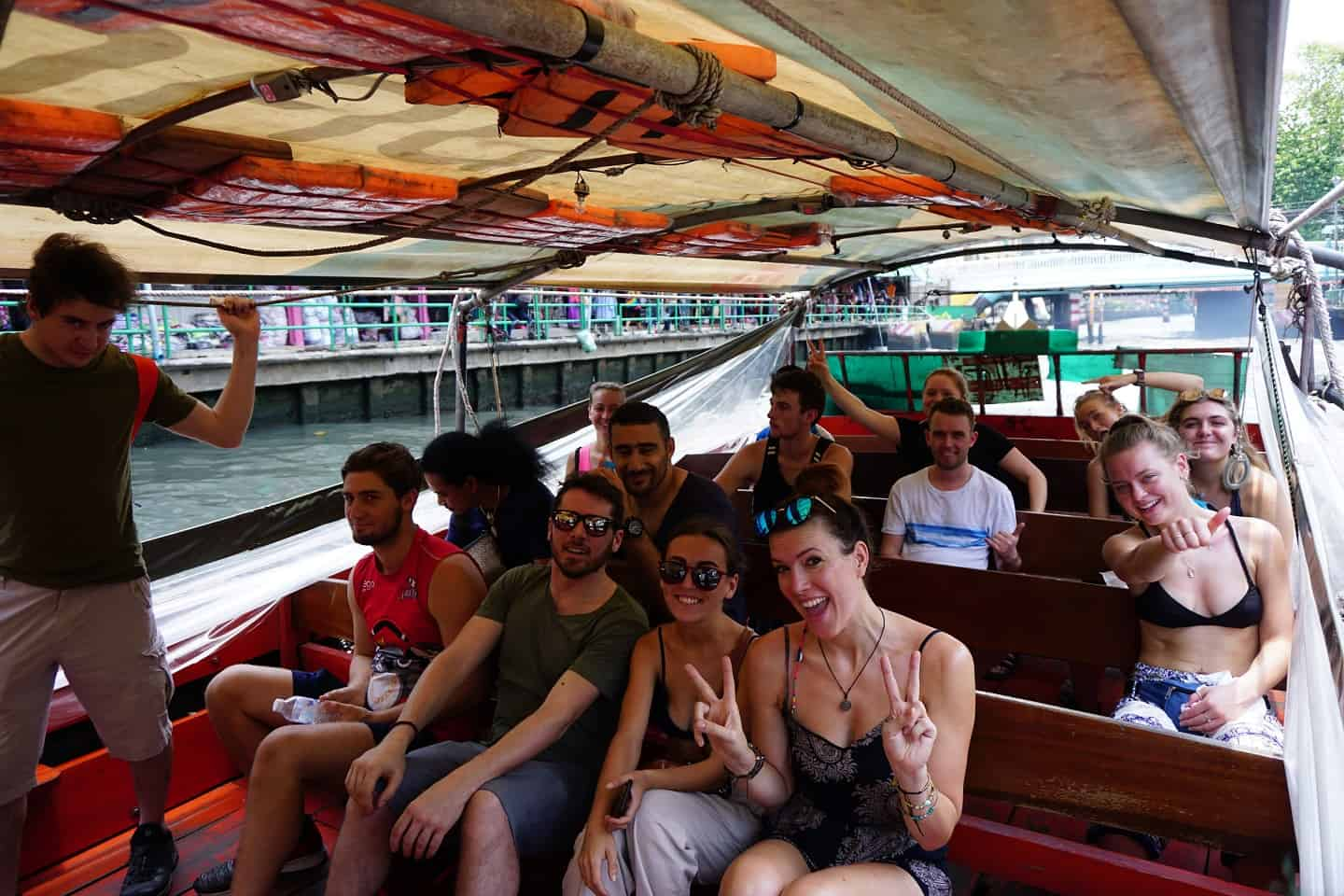 How to Take the Khlong Canal Taxi in Bangkok: Traveling Like a Local
