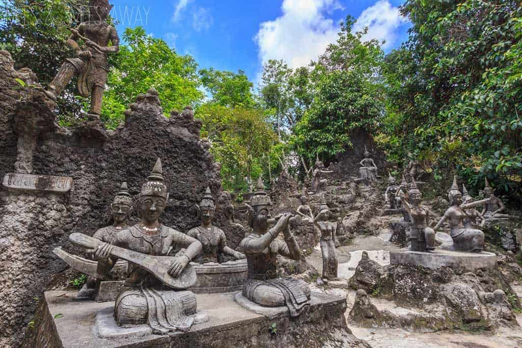 Tropical Retreat: Magic Buddha Garden, Koh Samui