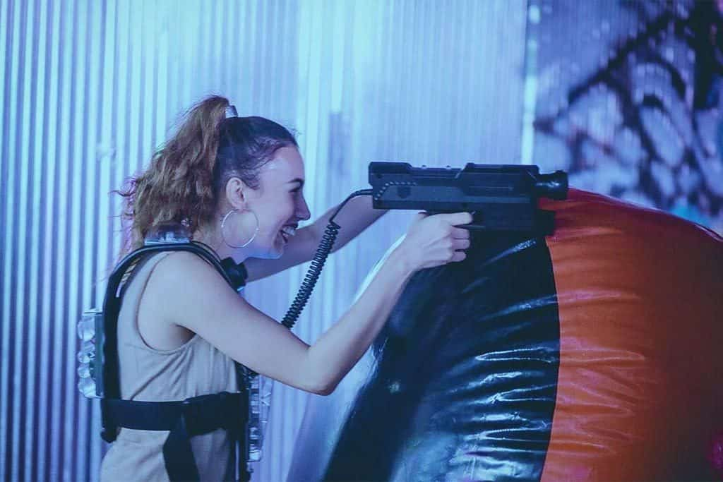 Shooting up the Lazgam Laser Tag Arena in Bangkok and Koh Samui