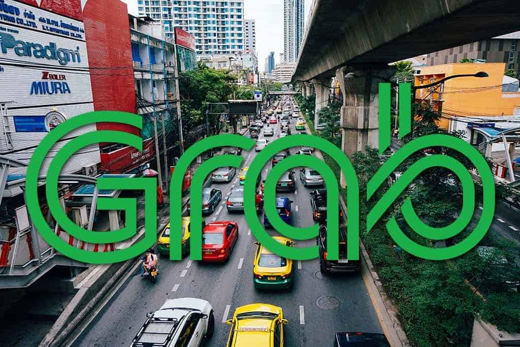 ride sharing in Thailand, Grab Taxi app