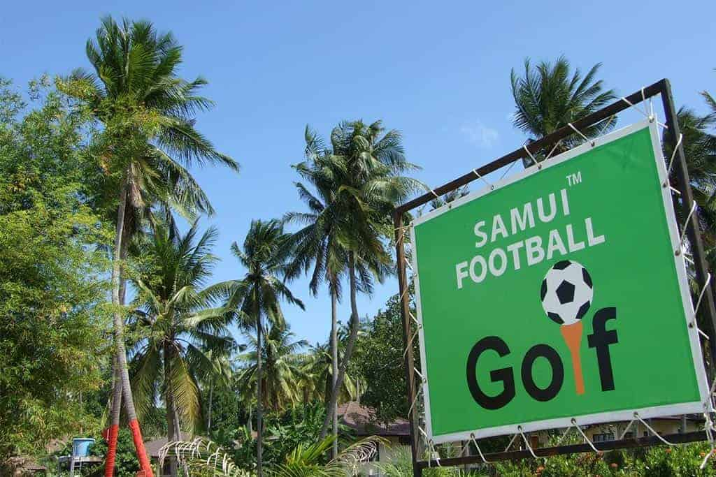 Samui Football Golf: Kick off your tropical holiday in style!