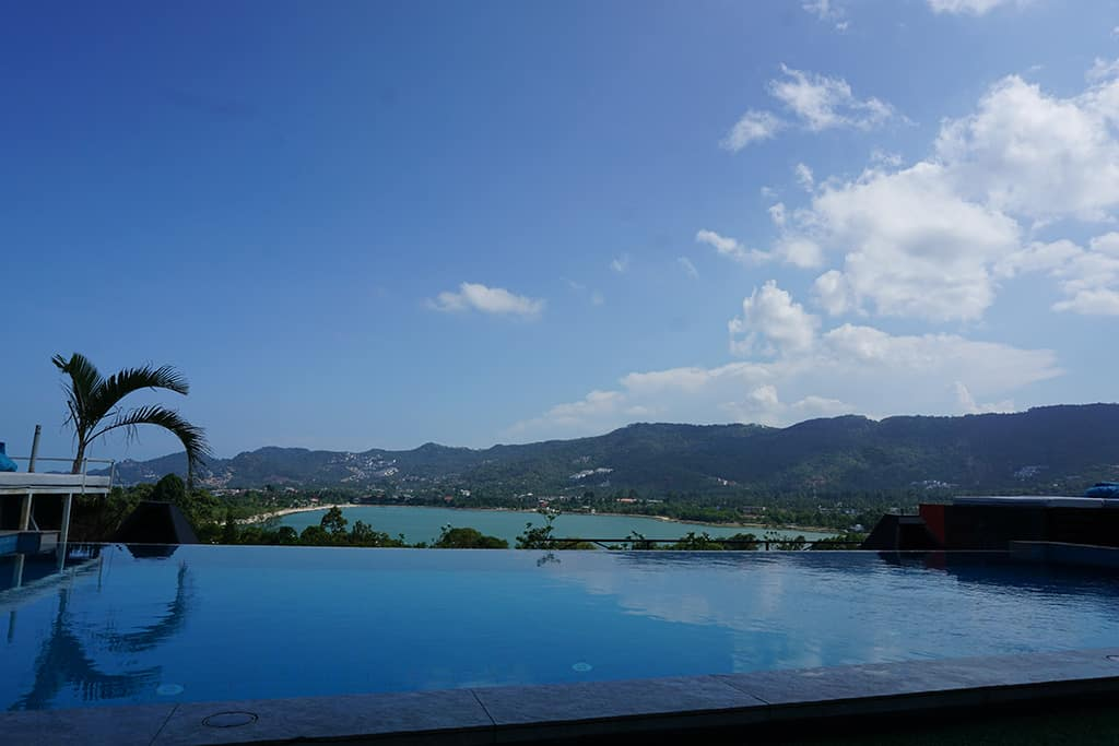 infinity pool at High Park Koh Samui