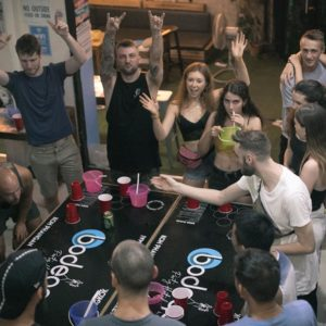 drinking games before the Bangkok Pub Crawl