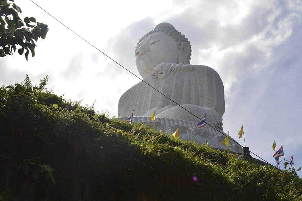 hiking to the Big Buddha in Phuket, Thailand