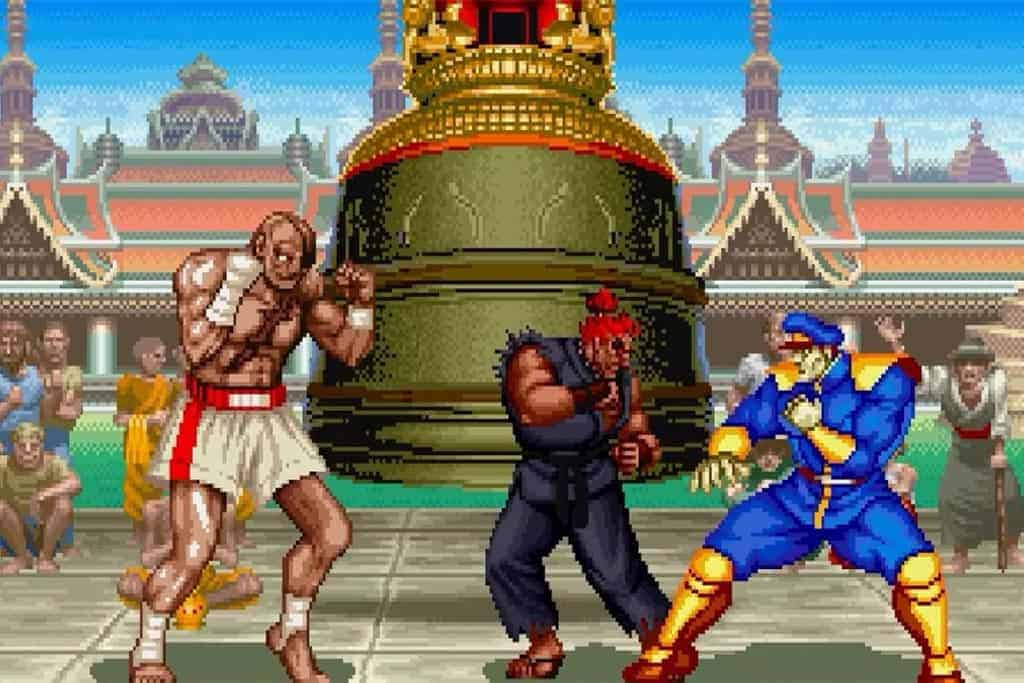 Muay Thai history of Sagat from Street Fighter