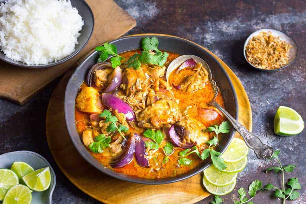 guide to Thai curries - massaman curry