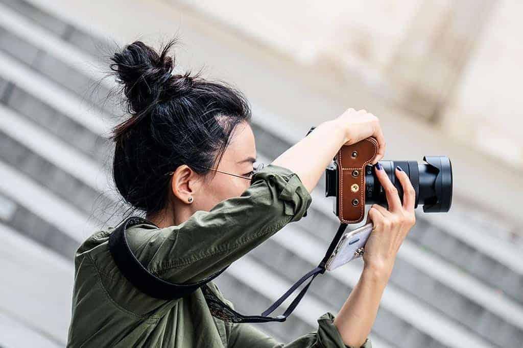 Thai photographer at Artist's House Bangkok