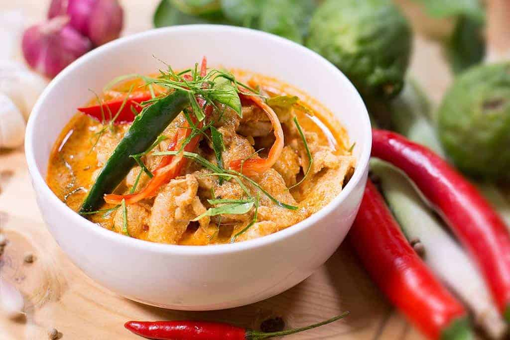 guide to Thai curries - Thai style Penang curry