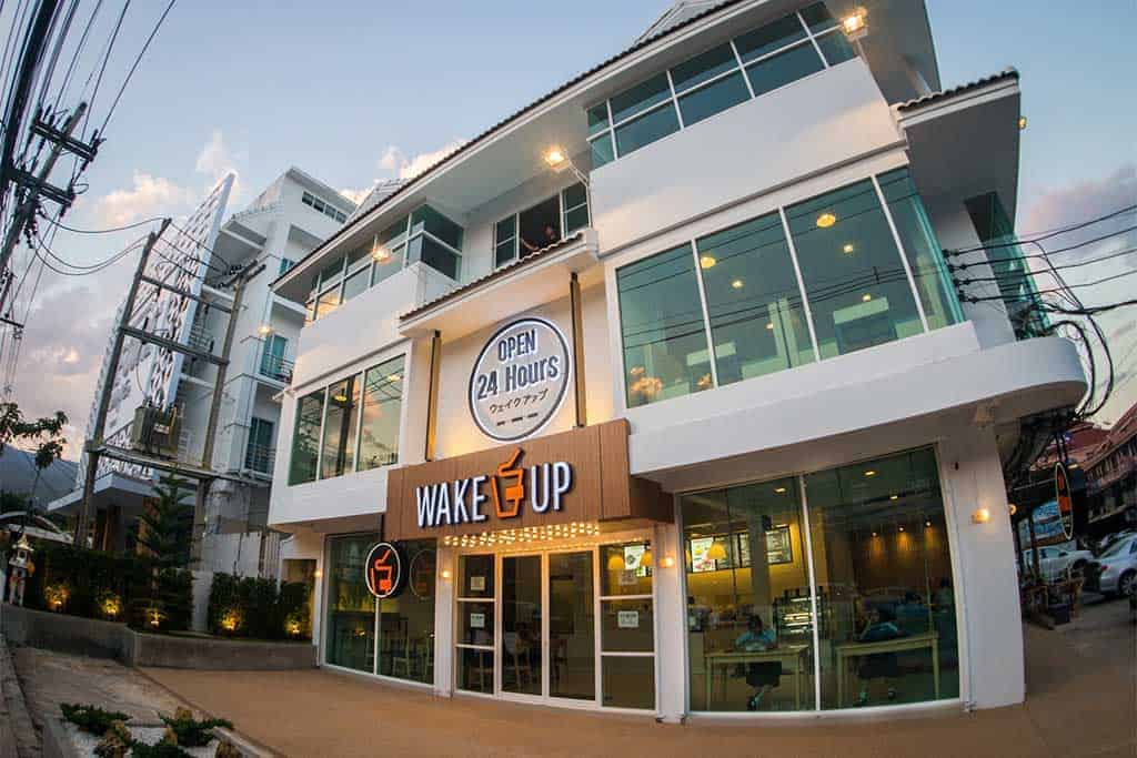 Wake Up is our favorite 24/7 coworking space in Chiang Mai