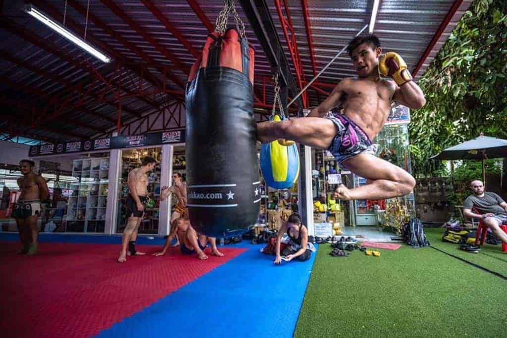 Yokkao Muay Thai Gym, Bangkok, Thailand