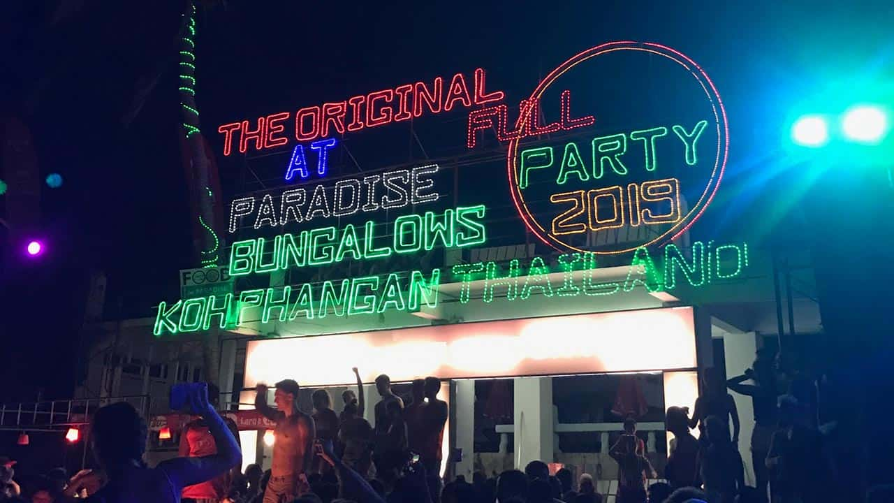 Koh Samui Full Moon Party Experience: Partying on a Shoestring Budget