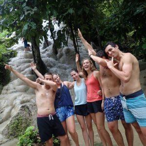 Chaing Mai sticky waterfalls