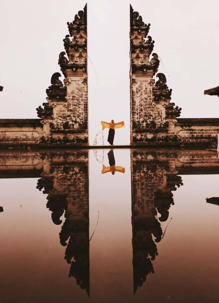 Gates of Heaven temple in Bali