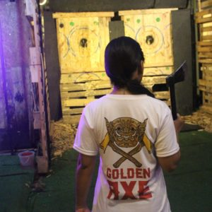 Golden Axe Throw Club shirt