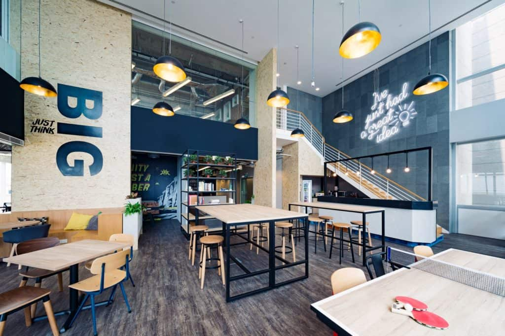 JustCo coworking space in Jakarta