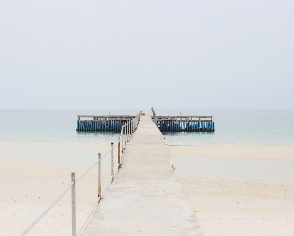 Sihanoukville pier
